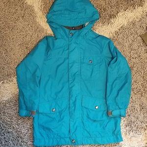 Gap lined windbreaker / raincoat